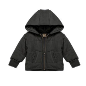 Organic Quilted Jacket - Storm