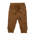 Load image into Gallery viewer, Organic Joggers - Caramel Acorns