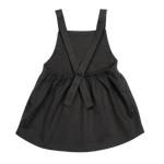 Load image into Gallery viewer, Organic Pinafore Dress - Storm