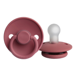 Load image into Gallery viewer, PRE-ORDER FRIGG Silicone Pacifier (Dusty Rose) 0-6 Months