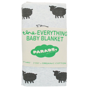 PRE-ORDER Organic Everything Blanket: Gray Sheep