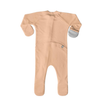 Load image into Gallery viewer, PRE-ORDER Organic Cotton/Bamboo Footie: Poppy
