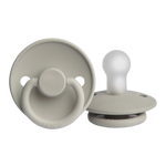 Load image into Gallery viewer, PRE-ORDER FRIGG Silicone Pacifier (Silver Gray) 0-6 Months