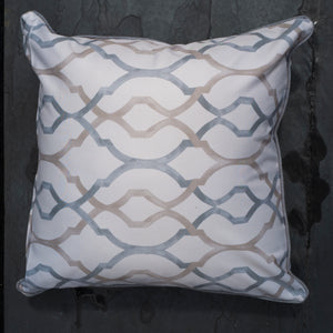 Scarlett Scatter Cushion 50 x 50 cm (Morocco Cream Grey)