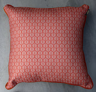 Scarlett Scatter Cushion Lanes Terracotta Piped Farren O…0cm x 50cm (NON WATER RESISTANT)