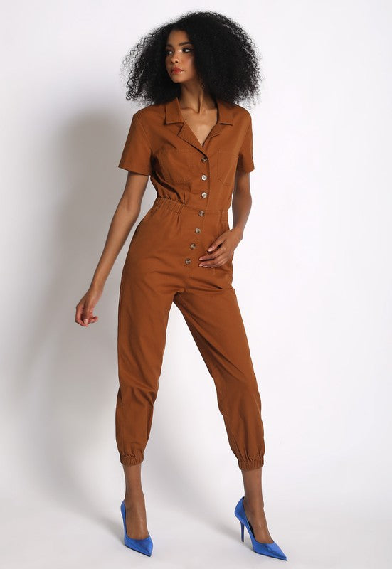 Button Me Up Jumpsuit