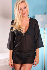 Sheer Tunic Coverup