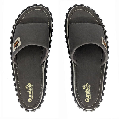 Islander Kanvas Slide - Cool Grey
