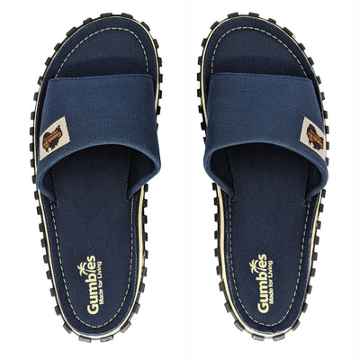 Islander Kanvas Slide - Navy