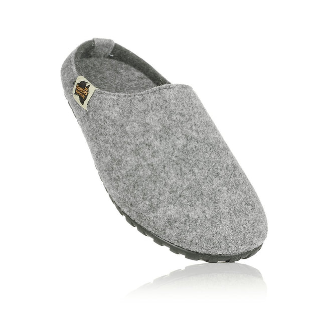 Outback Slipper - Grey & Charcoal