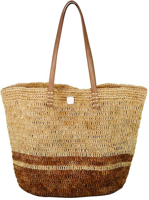 Hand-made Raffia bag - Maya Bay - Jag London