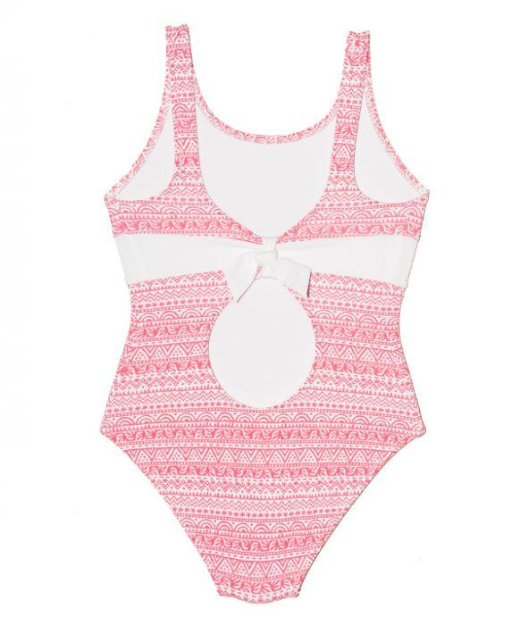Girls Keyhole Swimsuit - Maya Bay - Jag London