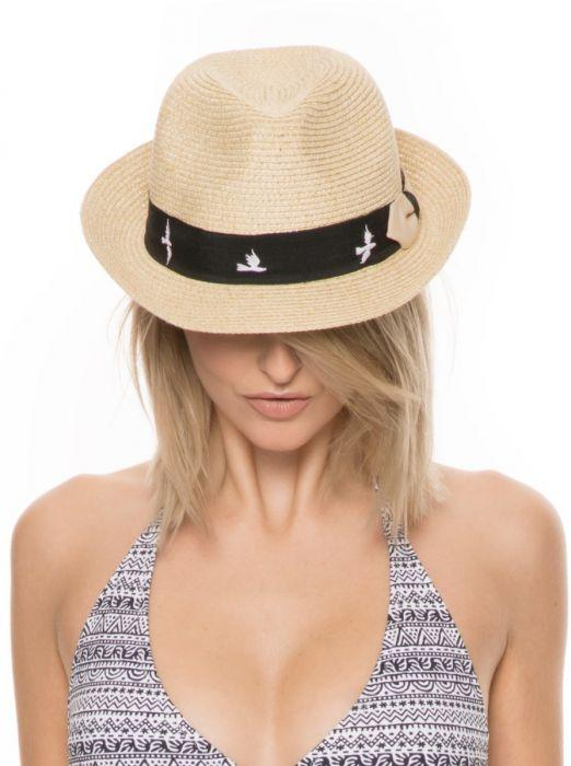 Natural Straw Adjustable Panama Hat - Maya Bay - Jag London - Jaglondon