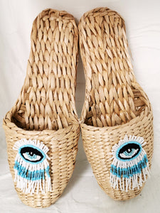Straw Slippers Deluxe