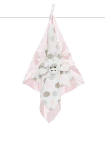 Little Giraffe Little G Blanky Pink
