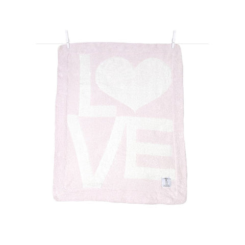 Little Giraffe Pink Dolce Love Blanket