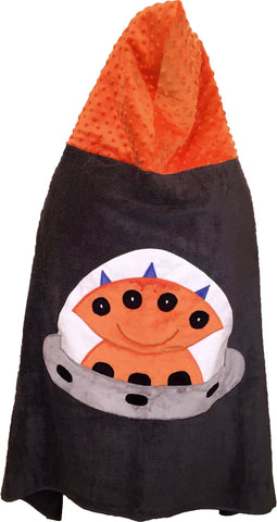 KokoBaby Toddler Alien Towel