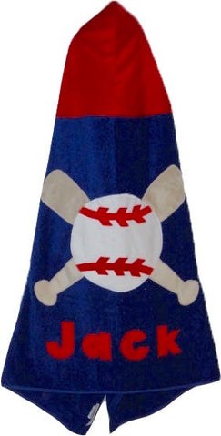 KokoBaby Toddler Baseball and Bats Towel