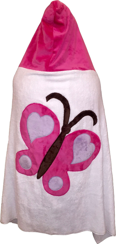 KokoBaby Toddler Butterfly Towel