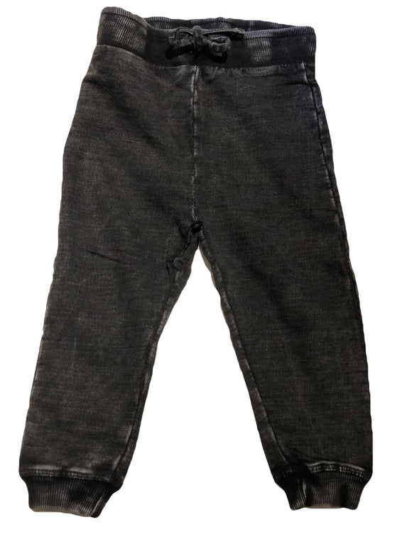 Mish Mish Black Distressed Jogger
