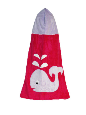 KokoBaby Toddler Whale Towel