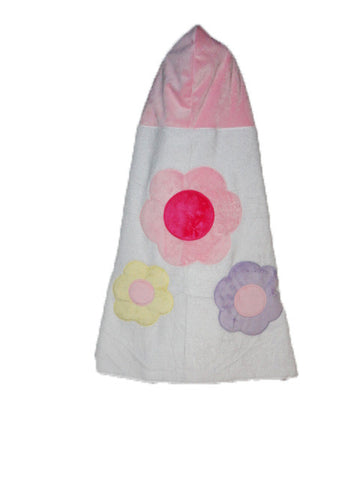 KokoBaby Toddler Flower Towel