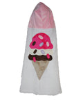 KokoBaby Toddler Ice Cream Cone Towel
