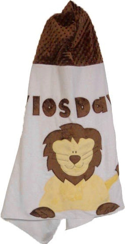 KokoBaby Toddler Lion Towel