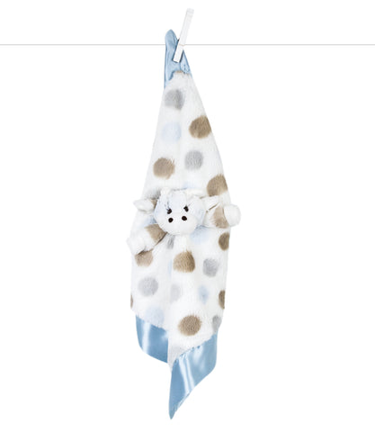 Little Giraffe Little G Blanky Blue