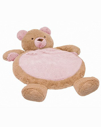 Mary Meyer Pink Bear Baby Mat