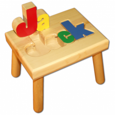 Damhorst Primary Wood Puzzle Stool