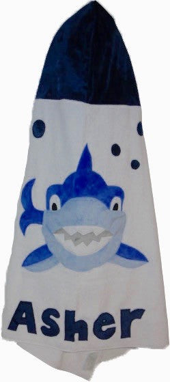 KokoBaby Toddler Shark Towel