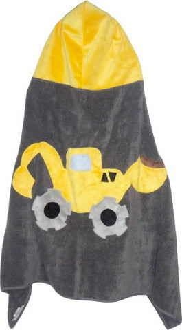 KokoBaby Toddler Yellow Truck Towel