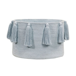 Lorena Canals Soft Blue Basket