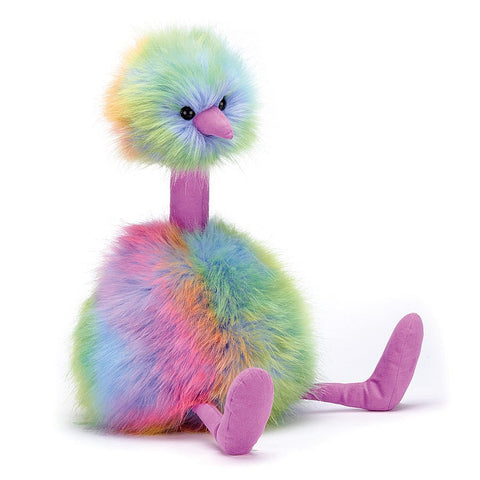 Jelly Cat Rainbow Pompom Medium