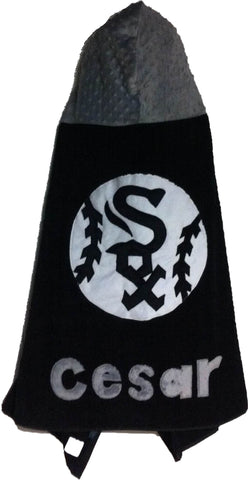 KokoBaby Toddler Chicago White Sox Towel