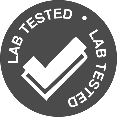 Lab tested.