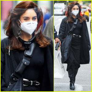 Vanessa Hudgens Stays Safe Filming New Movie 'Tick, Tick... Boom!' in NYC