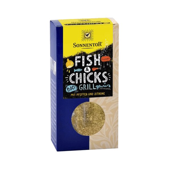 Fish & Chicks, Bio Grill Gewürz, 55 g - Sonnenland Shop