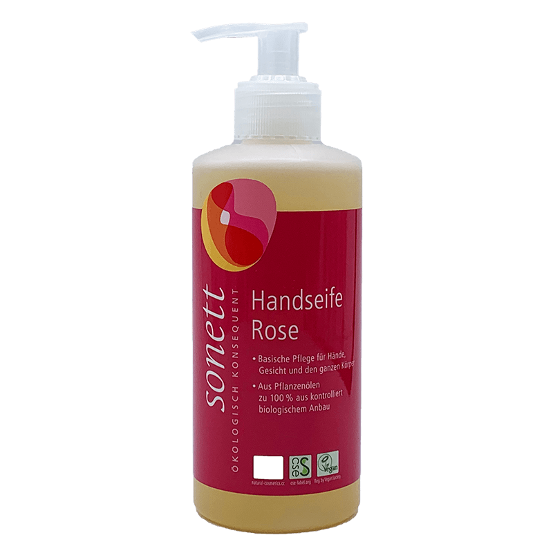 Handseife Rose 300 ml - Sonnenland Shop