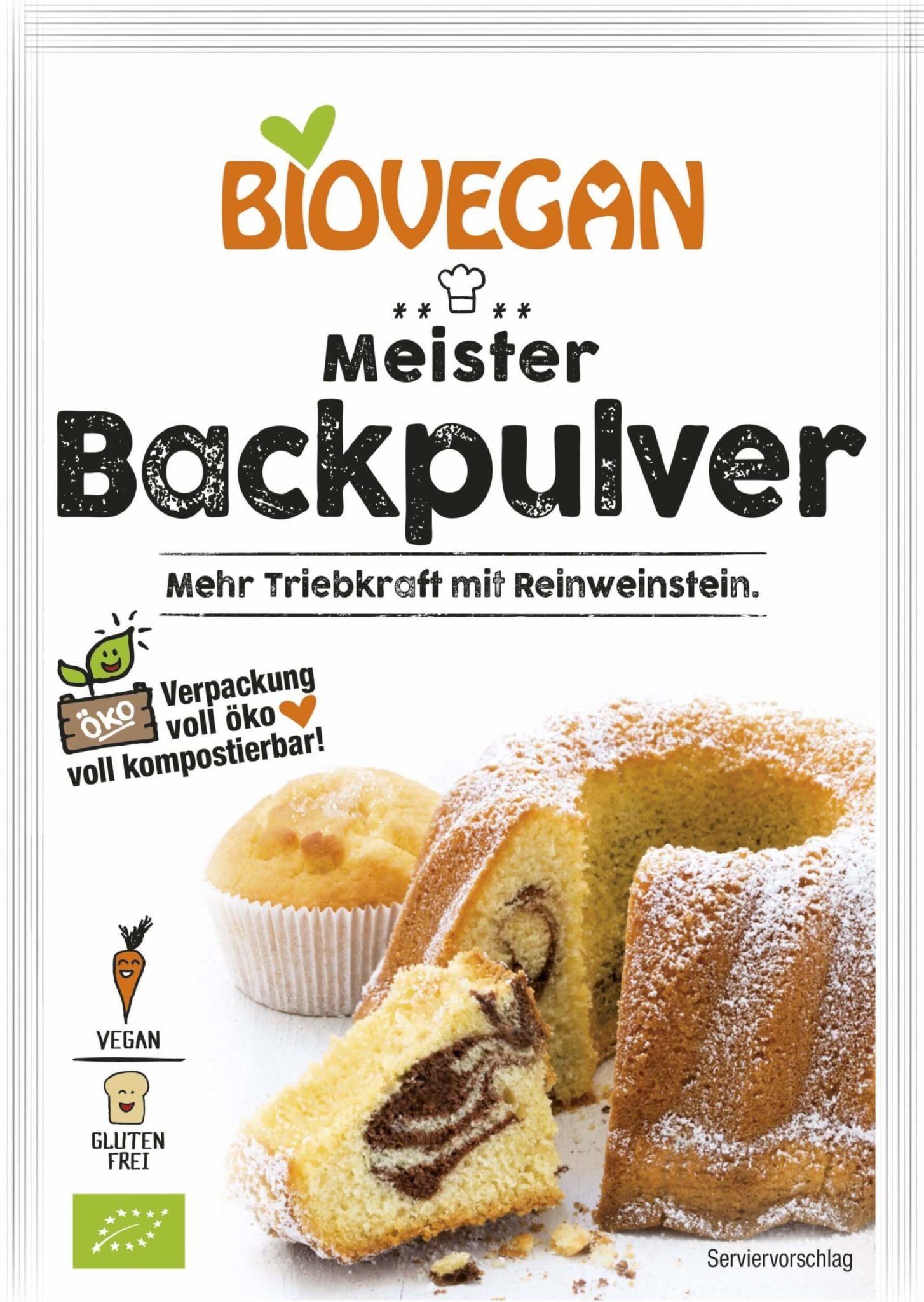 Meister Backpulver 3x17g - Sonnenland Shop