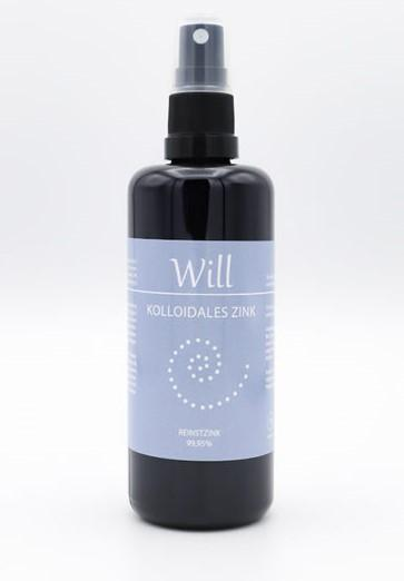 Will - Kolloidales Zink 100ml - Sonnenland Shop