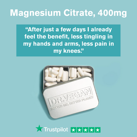 Magnesium Citrate, 400mg