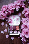RESERVE for Carrie + Sakura Petal - Limited edition Gemstone Mineral watercolor palette