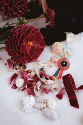 RESERVE for Lauren - Flower + The Ruby Dahlia Society Membership level iv.