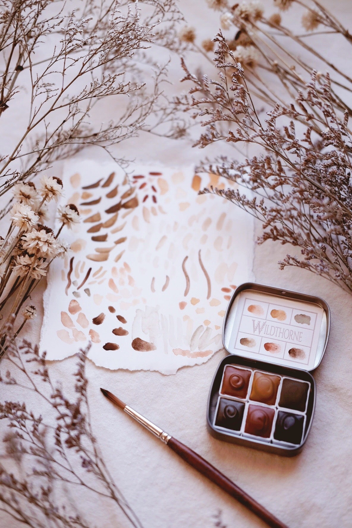 RESERVE for Mila + Chypre & Foxtail Lily custom watercolor palettes