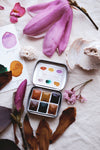 RESERVE for Jeannie + Storyteller + Limited edition Gemstone Mineral watercolor palette