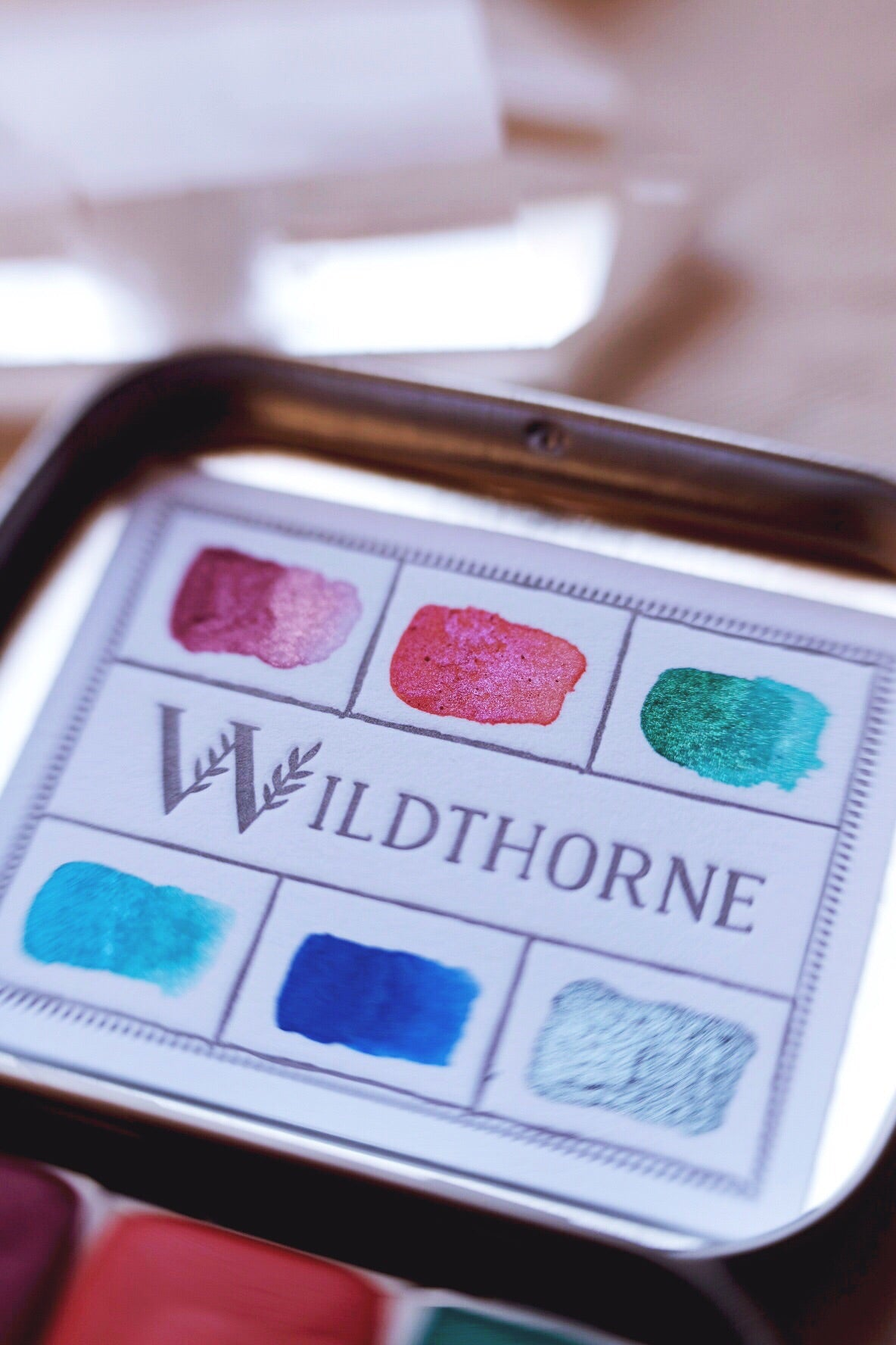 RESERVE for Edie + Moons of Saturn + Limited Edition Mineral shimmer watercolor palette