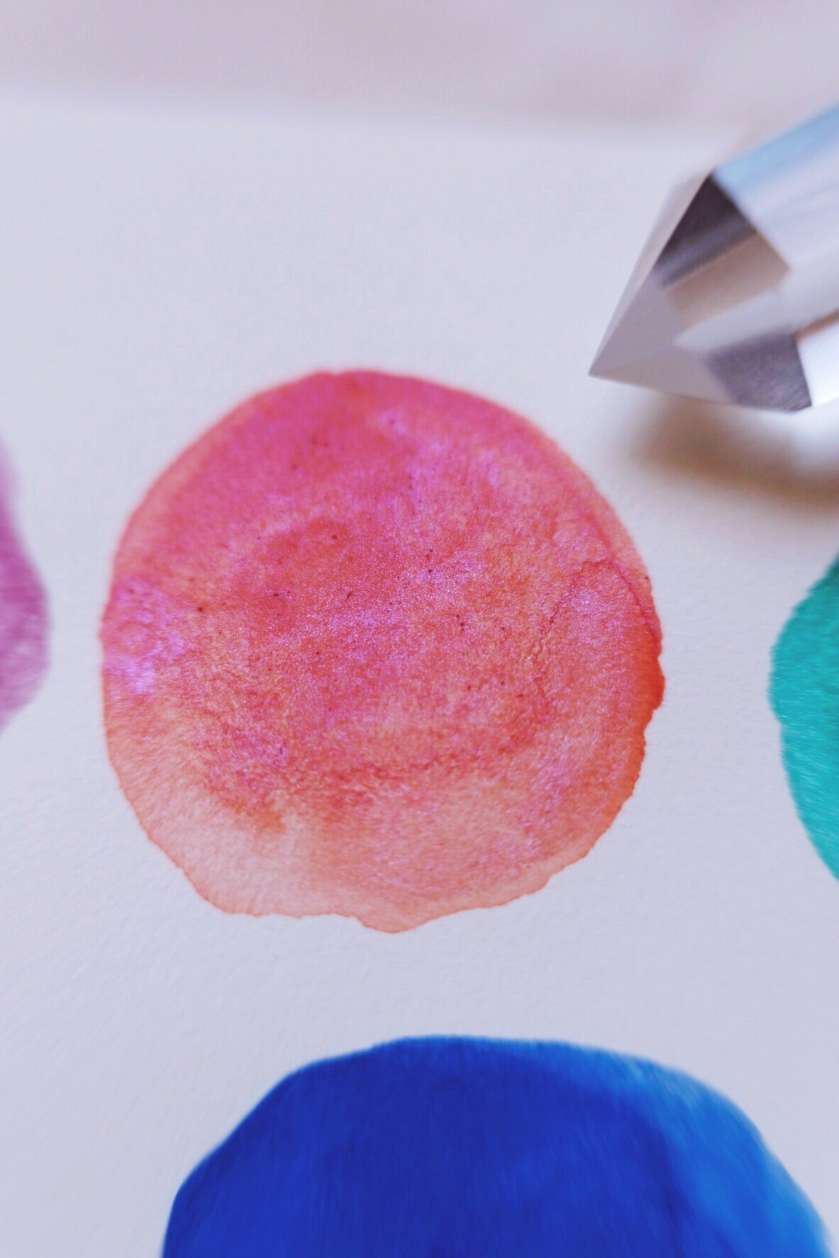 Moons of Saturn + Limited Edition Mineral shimmer watercolor palette