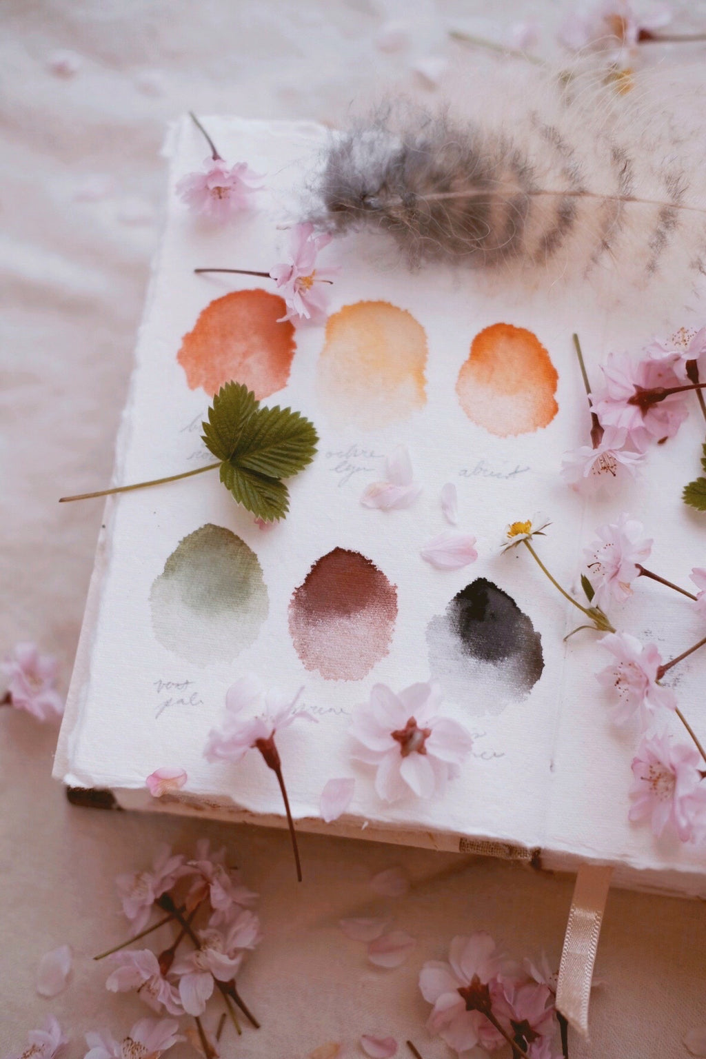RESERVE for Robin + Custom watercolor palettes